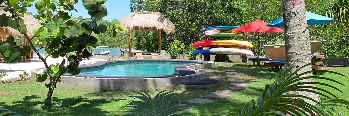 Ceningan Resort Pool