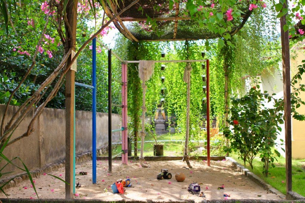 Ceningan Resort kids play area
