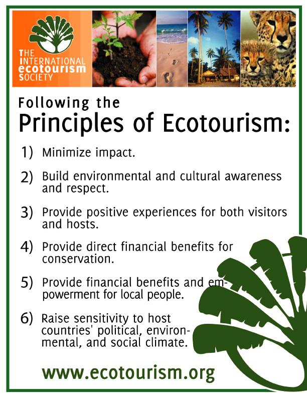 ecotourism-principles