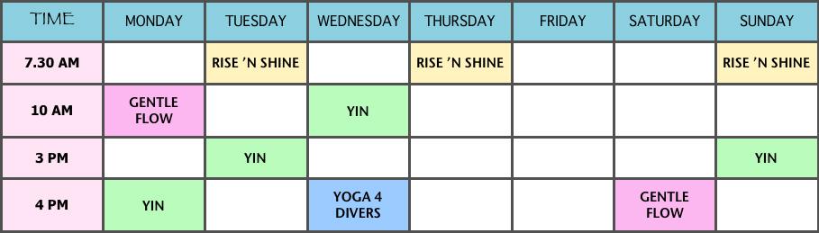 Ceningan-Yoga-Shala-schedule