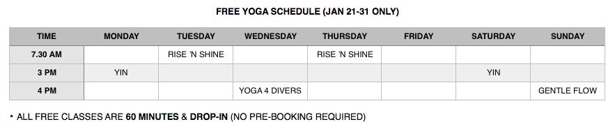 Free-yoga-january