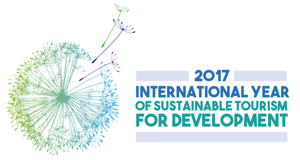 2017 is the International Year of Sustainable Tourism for Development