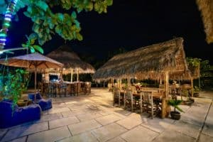 Resort at night 14