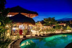 Resort at night 20